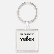 Property of YASMIN Keychains