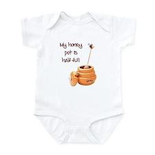 Honey Pot is Full Infant Bodysuit