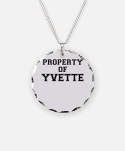 Property of YVETTE Necklace