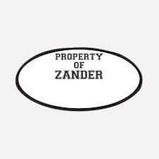 Property of ZANDER Patch