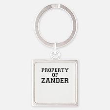 Property of ZANDER Keychains