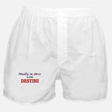 Madly in Love with Destini Boxer Shorts