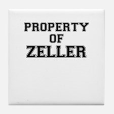 Property of ZELLER Tile Coaster