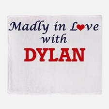 Madly in Love with Dylan Throw Blanket