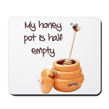 honey pot is empty Mousepad