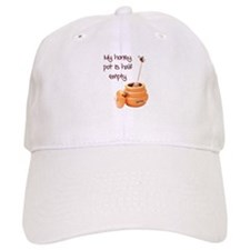 honey pot is empty Baseball Cap