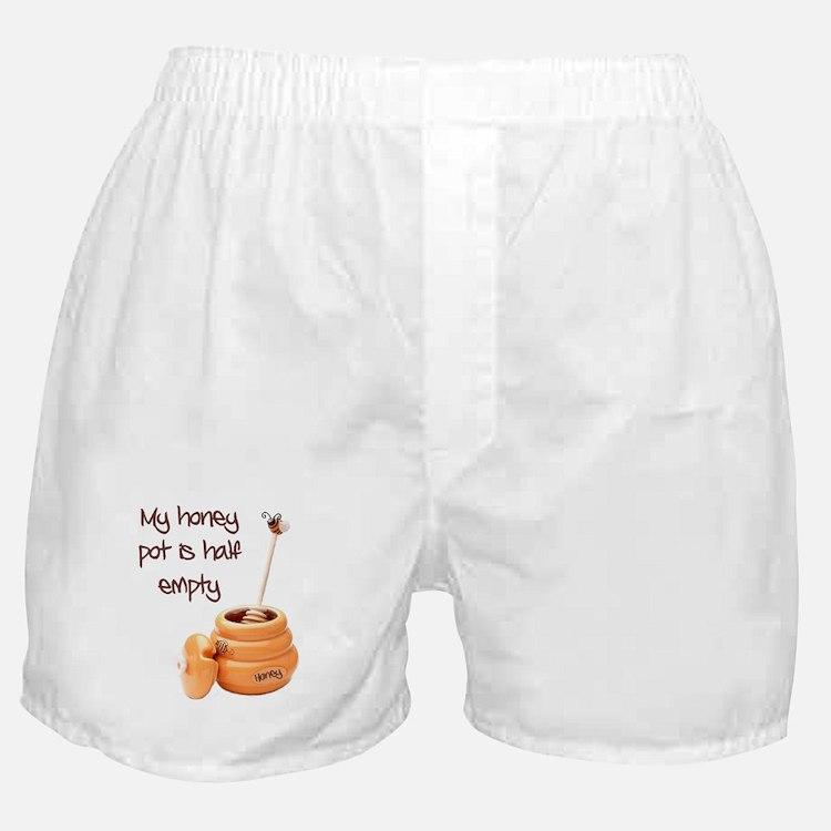 honey pot is empty Boxer Shorts
