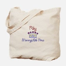 Riley - Mommy's Little Prince Tote Bag