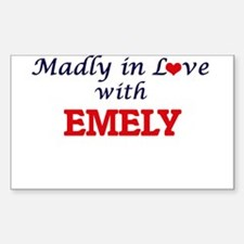 Madly in Love with Emely Decal