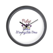 Robert - Mommy's Little Princ Wall Clock