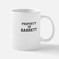 Property of BARRETT Mugs