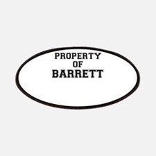 Property of BARRETT Patch