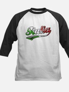 Classic Italia Italian Kids Baseball Jersey