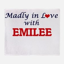 Madly in Love with Emilee Throw Blanket