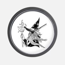 Wizard 5 Wall Clock