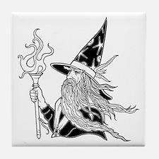 Wizard 5 Tile Coaster
