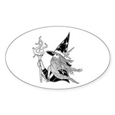 Wizard 5 Oval Decal