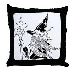 Wizard 5 Throw Pillow