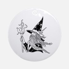 Wizard 5 Ornament (Round)