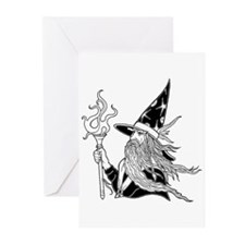 Wizard 5 Greeting Cards (Pk of 20)