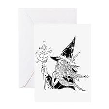 Wizard 5 Greeting Card
