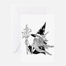 Wizard 5 Greeting Card