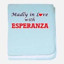Madly in Love with Esperanza baby blanket