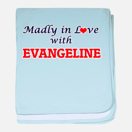 Madly in Love with Evangeline baby blanket