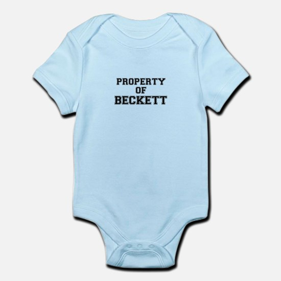 Property of BECKETT Body Suit
