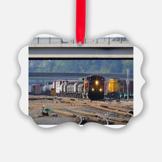 Unique Railroad Ornament