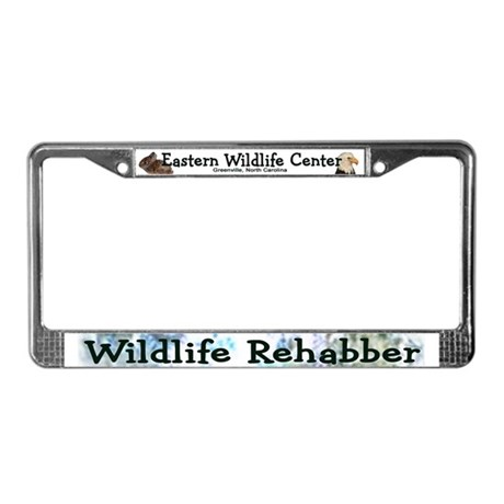 Eastern Wildlife Center License Plate Frame