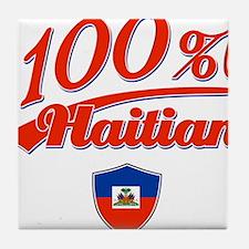 100% Haitian Tile Coaster