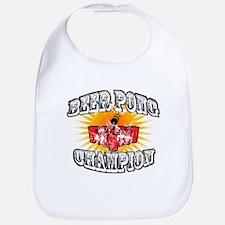 Beer Pong Champion Bib