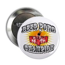 "Beer Pong Champion 2.25"" Button"