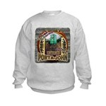 Porta John hunting blinds mak Kids Sweatshirt