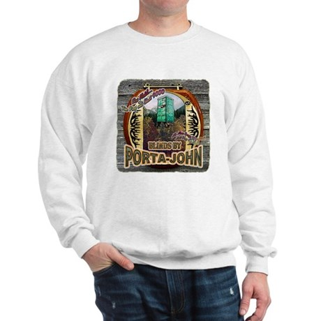 Porta John hunting blinds mak Sweatshirt