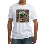 Porta John hunting blinds mak Fitted T-Shirt