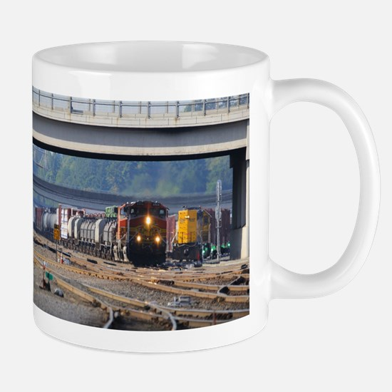 BNSF through Vancouver Mugs