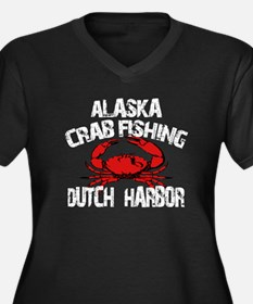 Dutch Harbor Alaska CRAB Fishing Women's Plus Size