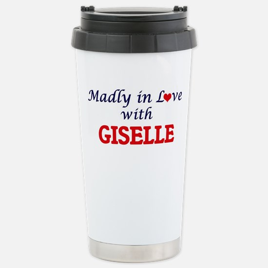 Madly in Love with Gise Stainless Steel Travel Mug