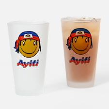 Ayiti designs Drinking Glass
