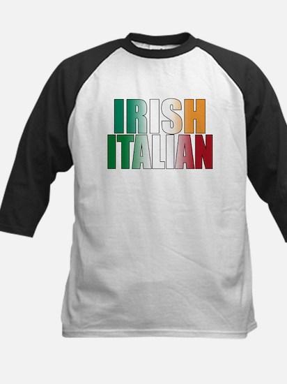 IRISH ITALIAN (blk) T-Shirt Baseball Jersey