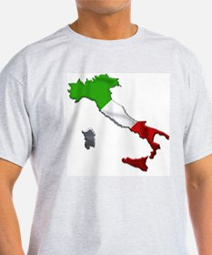Classic Italy Metallic Color T-Shirt