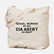 Social Workder CIA Agent Tote Bag