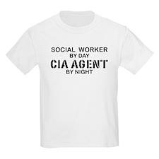 Social Workder CIA Agent T-Shirt
