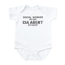 Social Workder CIA Agent Infant Bodysuit