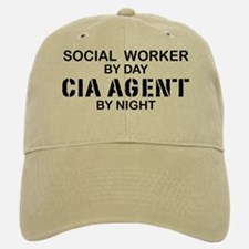 Social Workder CIA Agent Baseball Baseball Cap