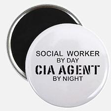 Social Workder CIA Agent Magnet
