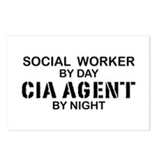 Social Workder CIA Agent Postcards (Package of 8)