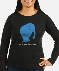 M is for Manatee T-Shirt